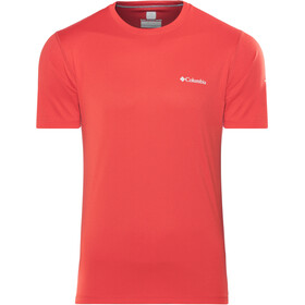 Columbia Zero Rules Chemise manches courtes Homme, red spark